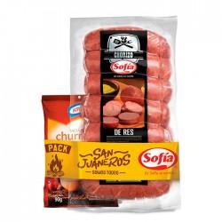 Pack Chorizo Sofia Res 1 Kg + Salsa