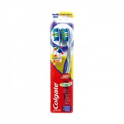 Cepillo Dent Colgate 360 Advance 2Un