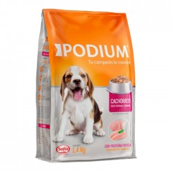 Alimento Podium Cach Raza Med/Grd  2.8K
