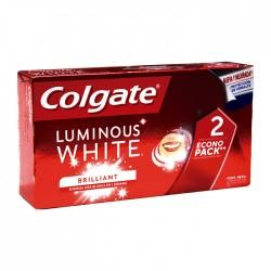 Crema Dent Colgate Luminous Bipack 2X75M