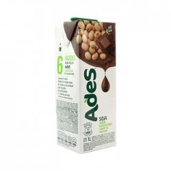 Leche De Soya Ades Tetra Chocolate 1Lt
