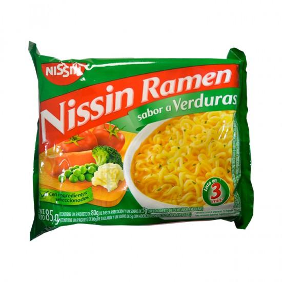 Sopa Inst  Nissin Verduras Sobre 85Gr