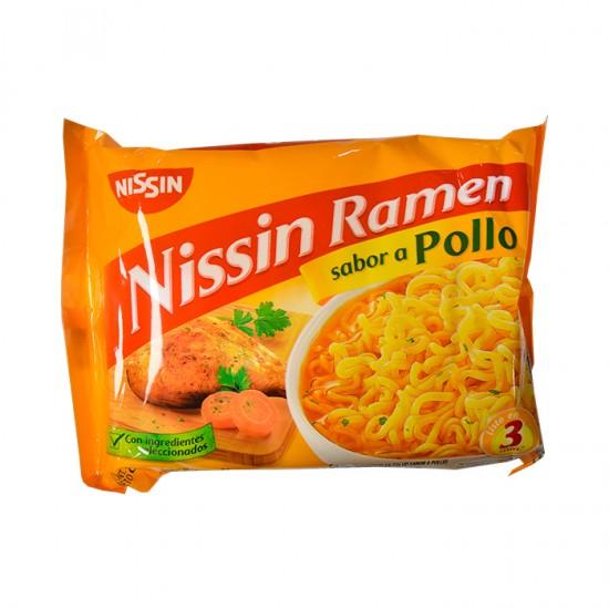 Sopa Inst  Nissin Pollo Sobre 85Gr