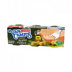 Combo 3 Atun Van Camp'S Agua Oliva 80Gr