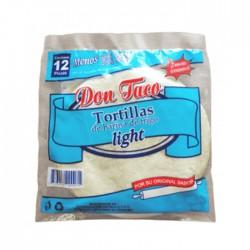 Tortillas Don Taco Trigo Light 360 Gr