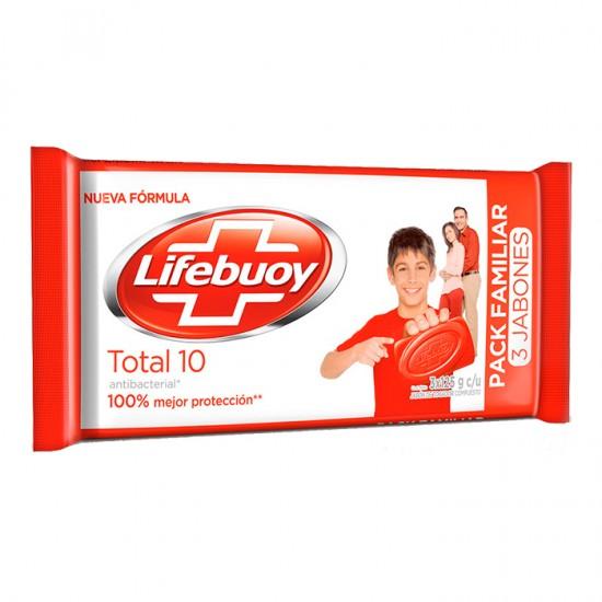 Jabon Lifebuoy Total 3Un 125Gr
