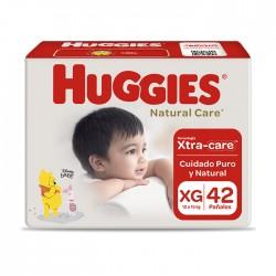 Panal Nat Care Huggies Xg 2X42 Cotton