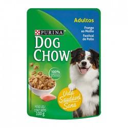 Alimento Hum Dog Chow Adult Pollo 100Gr