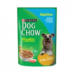 Alimento Hum Dog Chow Adul Peq Pav 100Gr