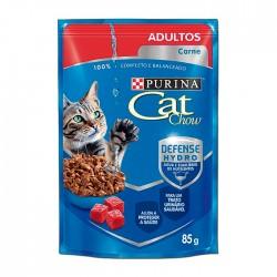 Alimento Hum Cat Chow Adultos Carne 85Gr