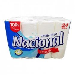 Papel Hig Nacional Clasico Celeste  24Un