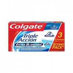 Combo Past Dent Colgatetriplex 3Un 75Ml