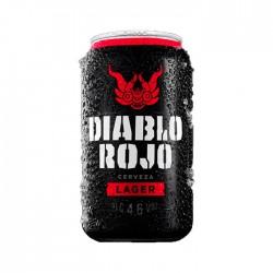 Cerveza Diablo Rojo Lata 355Ml