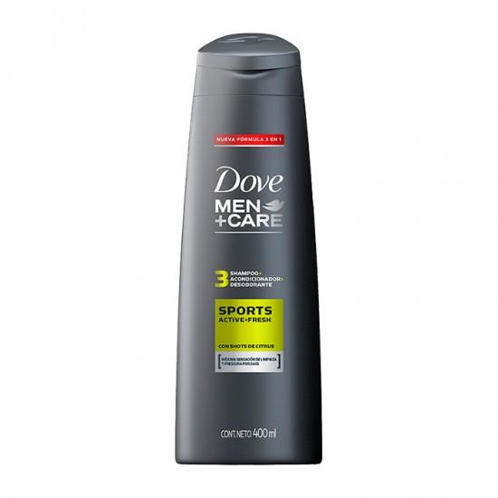 Shampoo Dove Sport 400 Ml