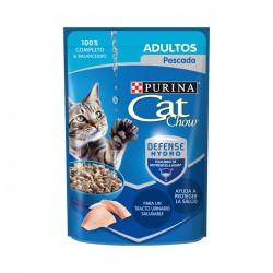 Alimento Hum Cat Chow Adulto Pescado 85G