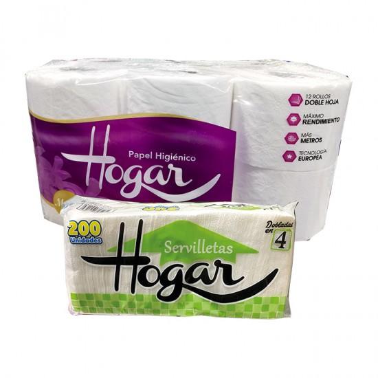Papel Higienico Hogar Mega 12Und