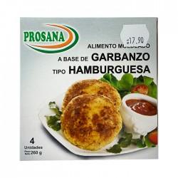 Hamburguesa Prosana Garbanzo 260Gr