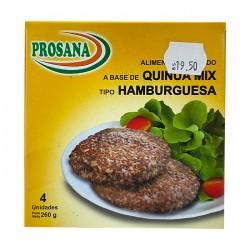 Hamburguesa Prosana Quinua Mix 260Gr