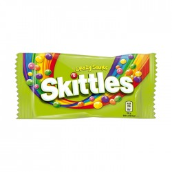 Masticable Skittles Sours Bag 45Gr