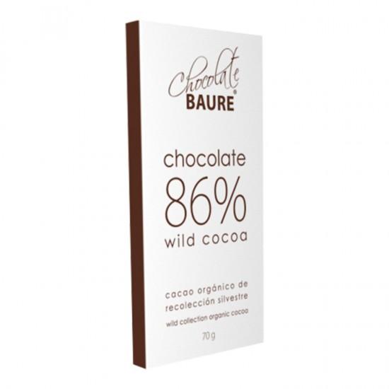 Chocolate Baure 86% Cacao 70Gr