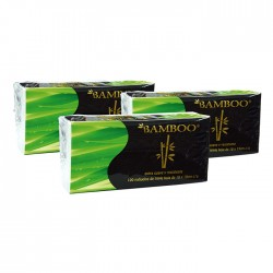 Pack 3 Panuelo Bamboo Triple Hoja 100Un