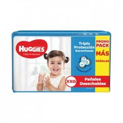 Panal Huggies Triple Protección Xxg 2X48