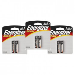 Sv 3 Pilas Energizer  Aaa2 Alcalina