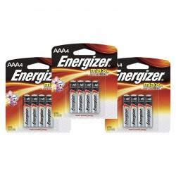 Sv 3 Pilas Energizer  Aaa4 Alcalina
