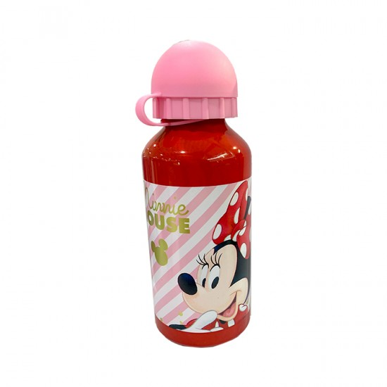 Botella Stor Minnie Alumin 400Ml 18334St