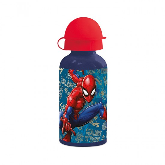 Botella Stor Spiderman Alu 400Ml 37934St