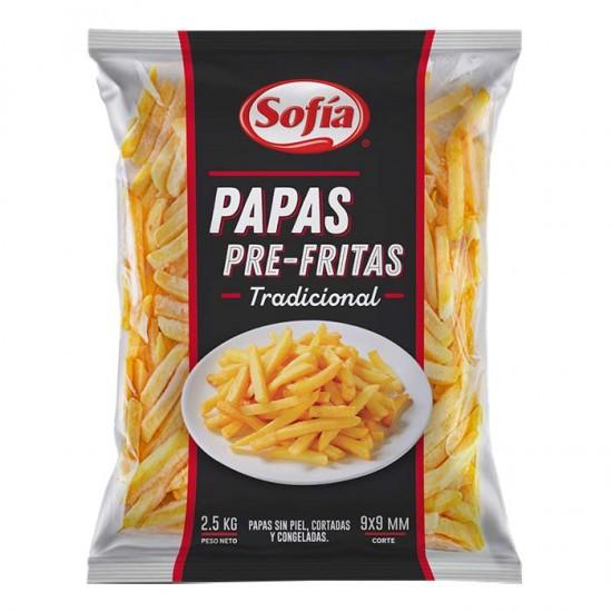 Papas Pre Fritas Cong Sofia Tradi 2,5Kg