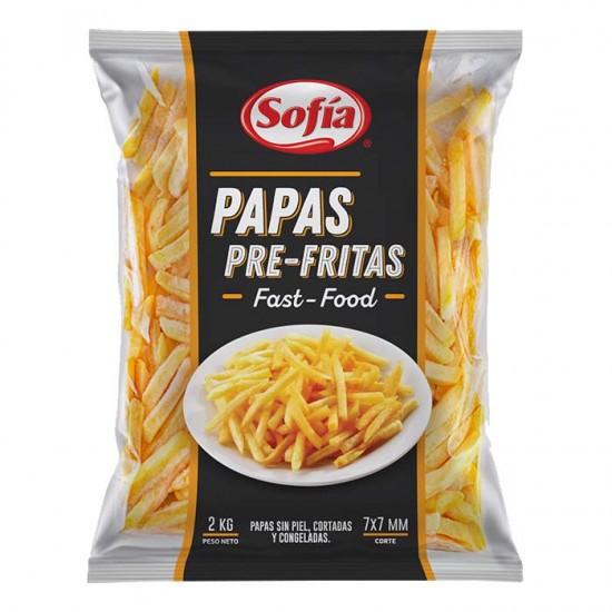 Papas Pre Fritas Cong Sofia Fast F 2Kg