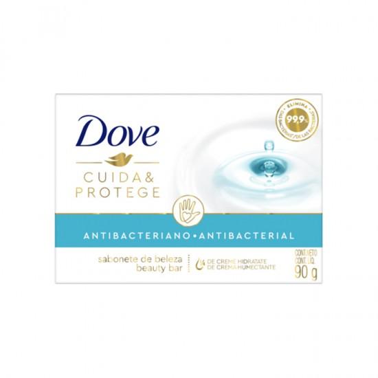Jabon Dove Cuida Y Protege Antibac. 3X90
