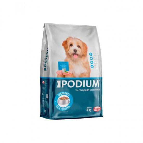 Alim Perro Podium Cachorro R. Pequen 8Kg