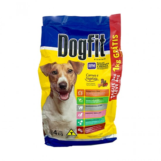Alimento Dogfit Adulto Rpm 4Kg