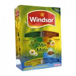 Mate Windsor Mix 4 Sabores 100Un