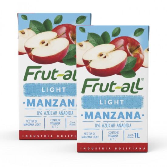 Combo 2 Unidades  Frut-All  Light 1Lt