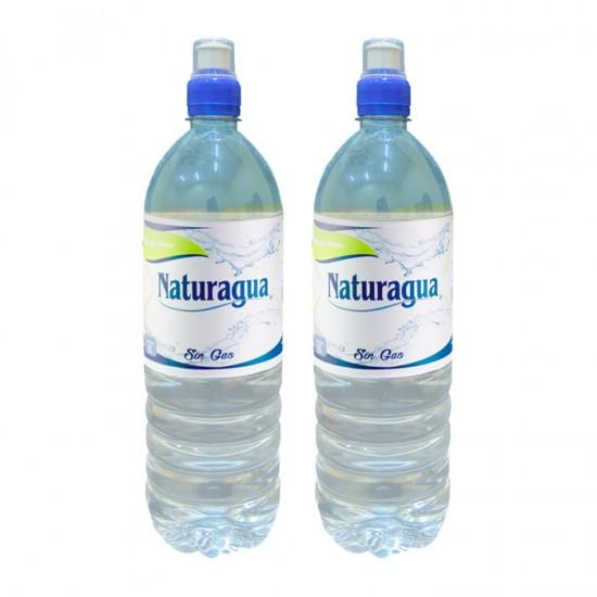 Pack 2 Agua Naturagua  Sin Gas 660Ml