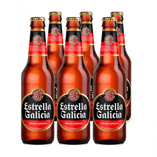 Pack Cerveza Estrella Galicia   355Mlx6