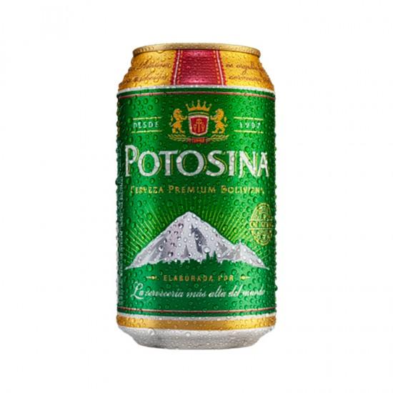 Cerveza Potosina Pack Lata  Pilsener 350