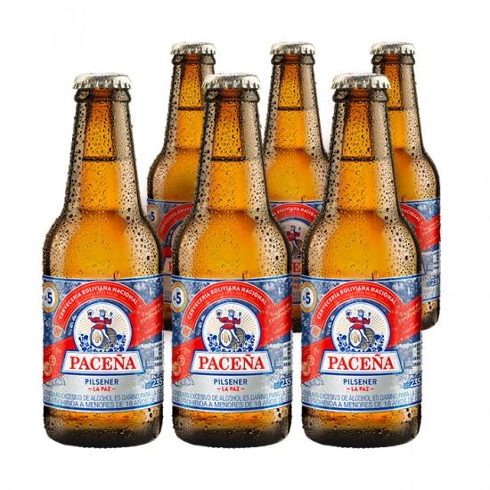 Sv 6 Cerveza Pacena Con Botella Incluid